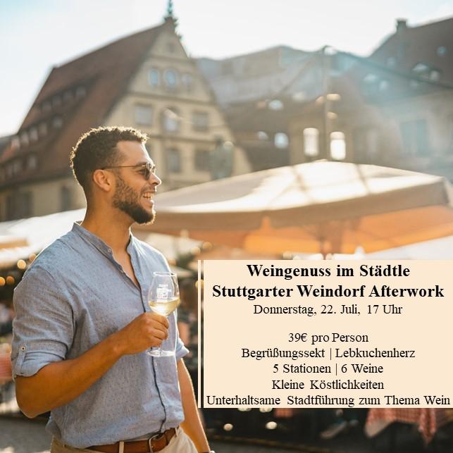 Weintour durch die Stuttgarter Innenstadt (Afterwork)
